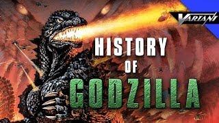 History Of Godzilla!