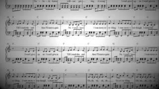 Shakira - Try Everything (Piano Sheet Music)