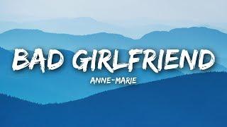 Download lagu Anne Marie Bad Girlfriend MP3