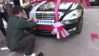 Milli Savunma Bakanının makam aracı Şehit çocuğu için süslendi