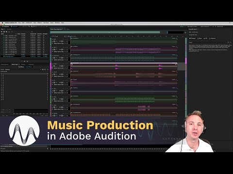 Setting Adobe Auditi up as Music Editing Software