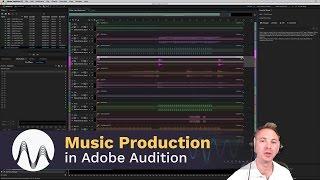 Einstellung Adobe autdition als Musik-Bearbeitungs-Software