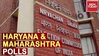Election Commission To Announce Dates For Polls In Haryana, Maharashtra Today
