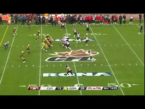 CFL Western Semi-Final Recap: Calgary 19, Edmonton 33 - November 13, 2011