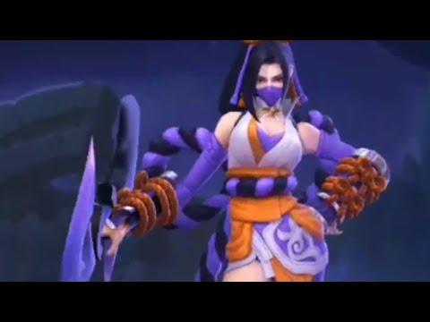 Hanabi Resplendent Iris Skin First Look Mobile Legends Youtube