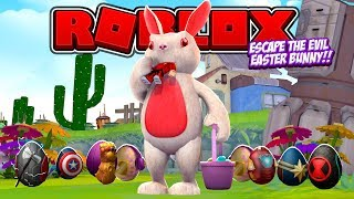 ROBLOX - ESCAPE THE EVIL EASTER BUNNY!!!