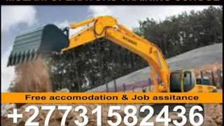 Excavator,Dump Truck,Tower Crane,Mobile Crane TRAINING SCHOOL IN SOUTH AFRICA
