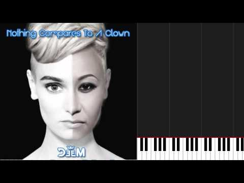 how to play clownemeli sandé on piano sheet music - youtube
