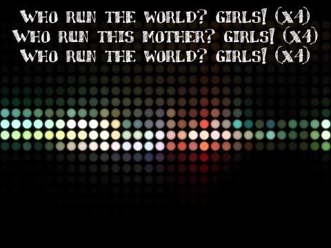 Beyoncé  Run The World (Girls) with Lyrics HD