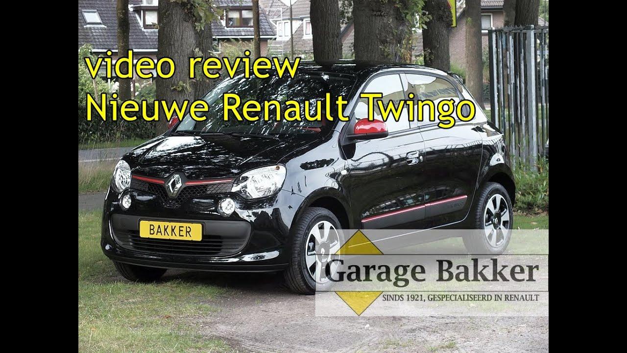 Video review nieuwe renault twingo sce 70 expression de for Garage renault garche 57