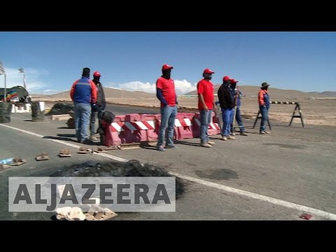 Chile miners continue strike for better wages