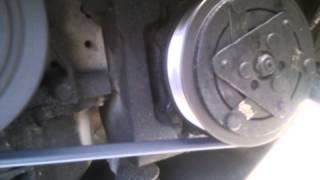 Звук после замены ремня генератора и роликов