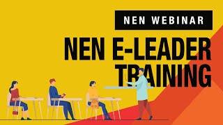 NEN Advanced E Leader Training | Wadhwani Foundation
