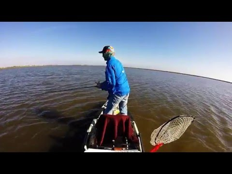 Kayak fishing cocodrie la youtube for Kayak fishing louisiana