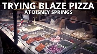 Trying Blaze Pizza at Disney Springs