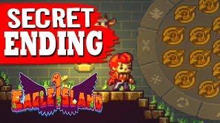 Eagle Island - SECRET ENDING + All Ancient Coins Collected Secret Boss Battle - True Ending
