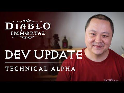 Diablo Immortal   Alpha Developer Update