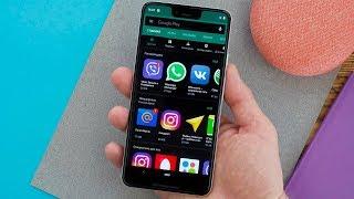 Android Q Beta 3 темная тема и новые жесты