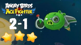Angry Birds Ace Fighter - Cobalt Plateaus 2-1 [NORMAL + HARD]