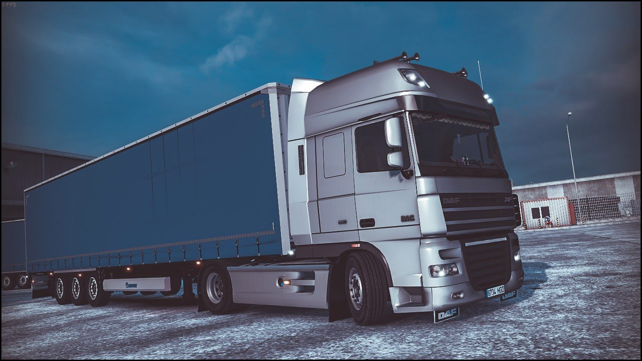 Моды для Euro Truck Simulator 2 Vk