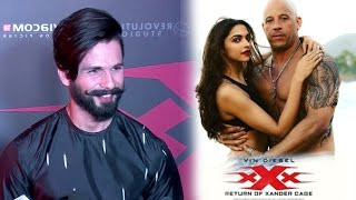 Shahid Kapoor's Review Of Deepika's xXx  Return of Xander Cage Movie With Vin Diesel