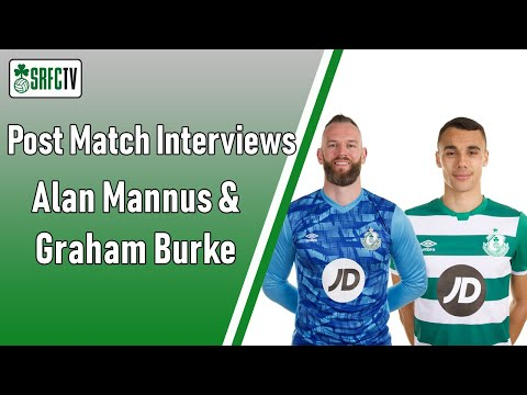 Alan Mannus & Graham Burke | Post Match Interview v Derry City | 7 November 2020