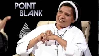 Interview with Sr Lucy Kalappura  | Point Blank 30 Jan 2019