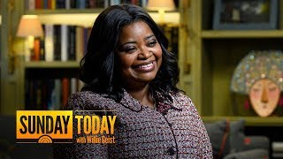 'Self Made' Star Octavia Spencer Shares Advice That Still Makes Her Emotional | Sunday TODAY