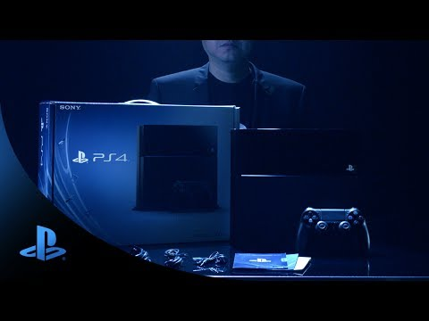 Sony officially unboxes the PS4