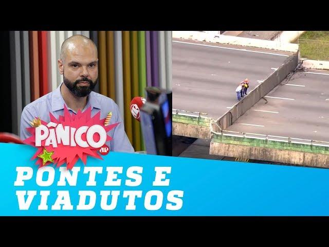 Bruno Covas explica situação das pontes e viadutos em São Paulo