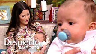 Ana Patricia regresa a trabajar y presenta al nuevo integrante de la familia