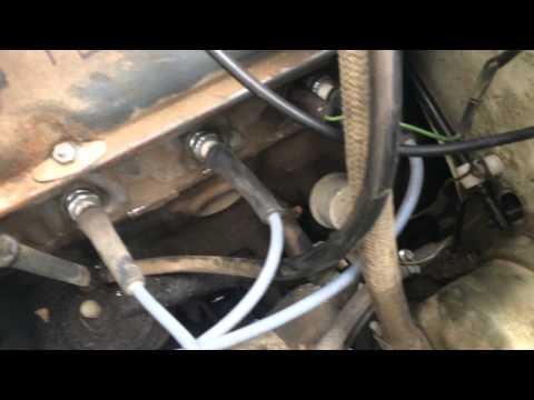 Установка тяги акселератора (педали газа) на ВАЗ 2106 (классике)