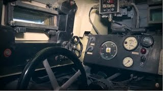 Inside Tank Tiger H1. Realistic Game Simulator of the German Tank of World War 2