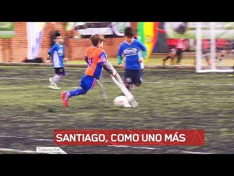Santiago, como uno más