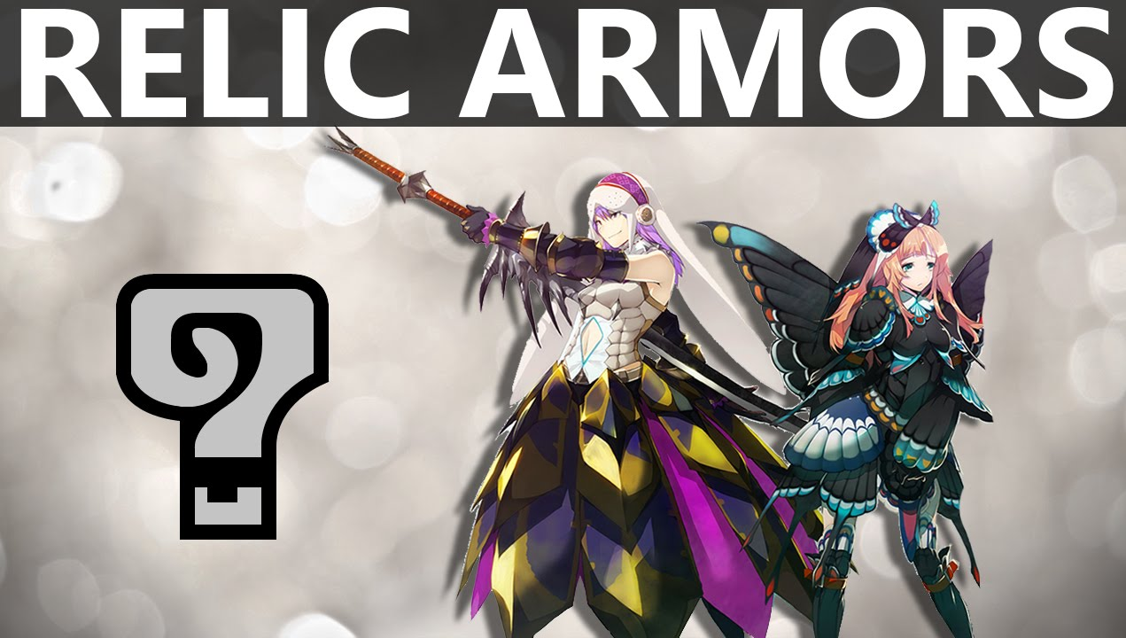 Mh4uall Relic Armors Where To Get Them Youtube