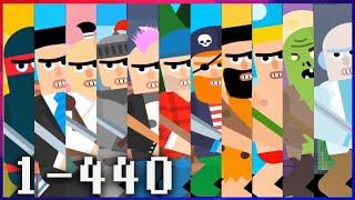 Mr Ninja - Slicey Puzzles - All Levels 1-440 screenshot 2