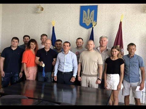 Федерация дзюдо Харькова чествовала ведущих спортсменов и тренеров