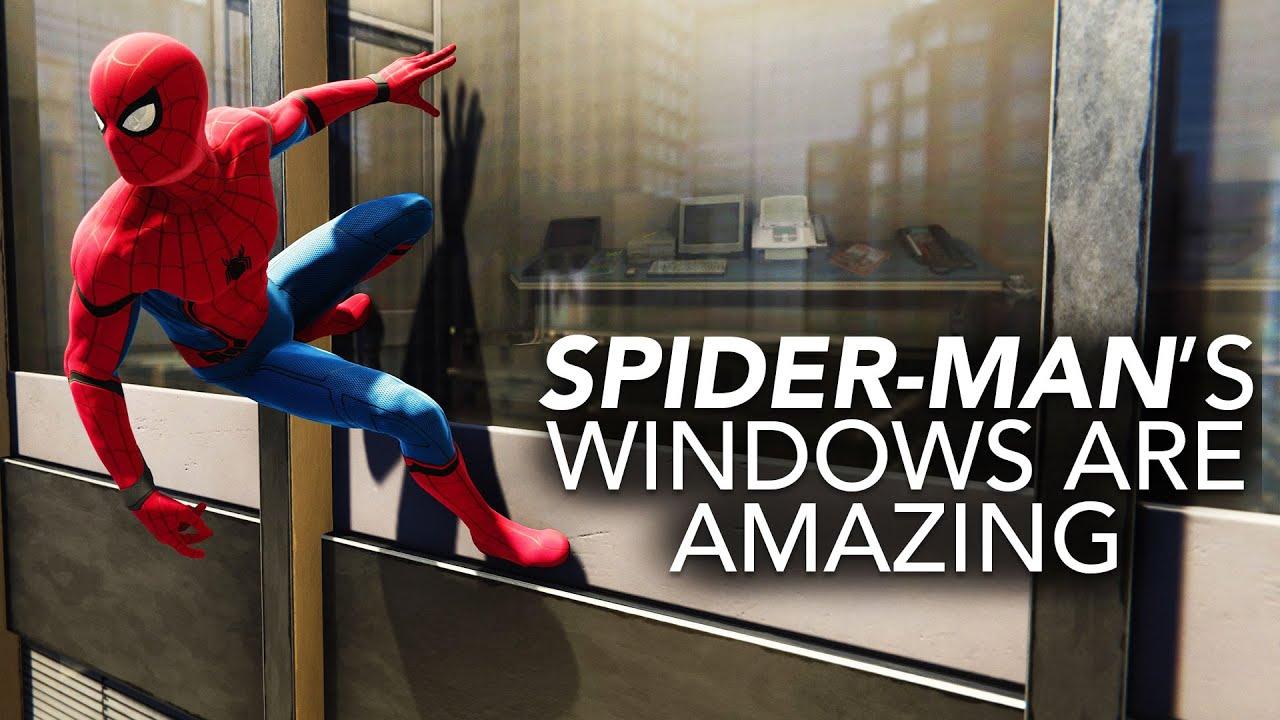 Spider-Man's Windows Are Amazing