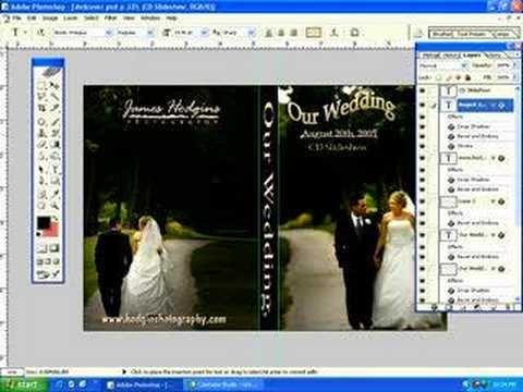 photoshop tutorial how to create a dvd cover in photoshop