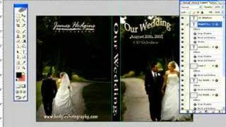 Photoshop tutorial-How to create a DVD cover in photoshop