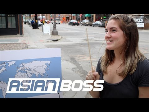 Can Americans Locate Asian Countries? | ASIAN BOSS
