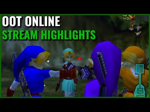 OoT Online Highlights | 4-Player Chaos