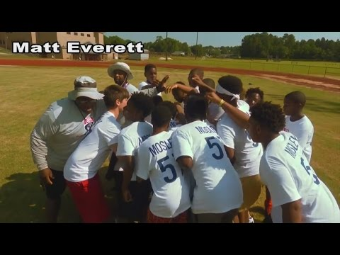 CJ Mosley Holds Football Camp