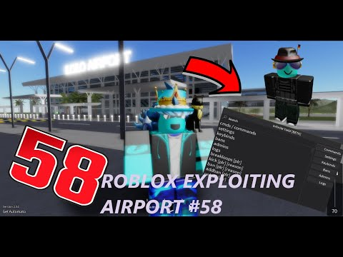 Roblox Exploiting Admin Trolling | International Airport Ep.58