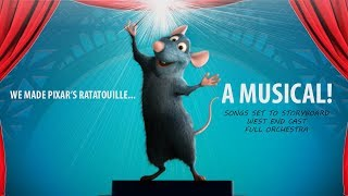 Pixar and disney's ratatouille is transformed into a musical. remy linguini realise they need to work together in order succeed practice cooking i...