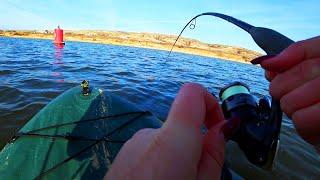 ЕЩЕ ЧУТЬ ЧУТЬ И ЭТА РЫБА УТАЩИЛА БЫ ЛОДКУ Рыбалка 2019