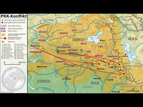 Kurdish-Turkish conflict (1978-present) | Wikipedia audio article