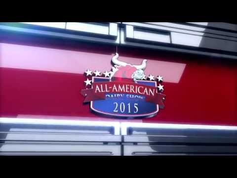 All-American Dairy Show 2015 Supreme Champion Parade