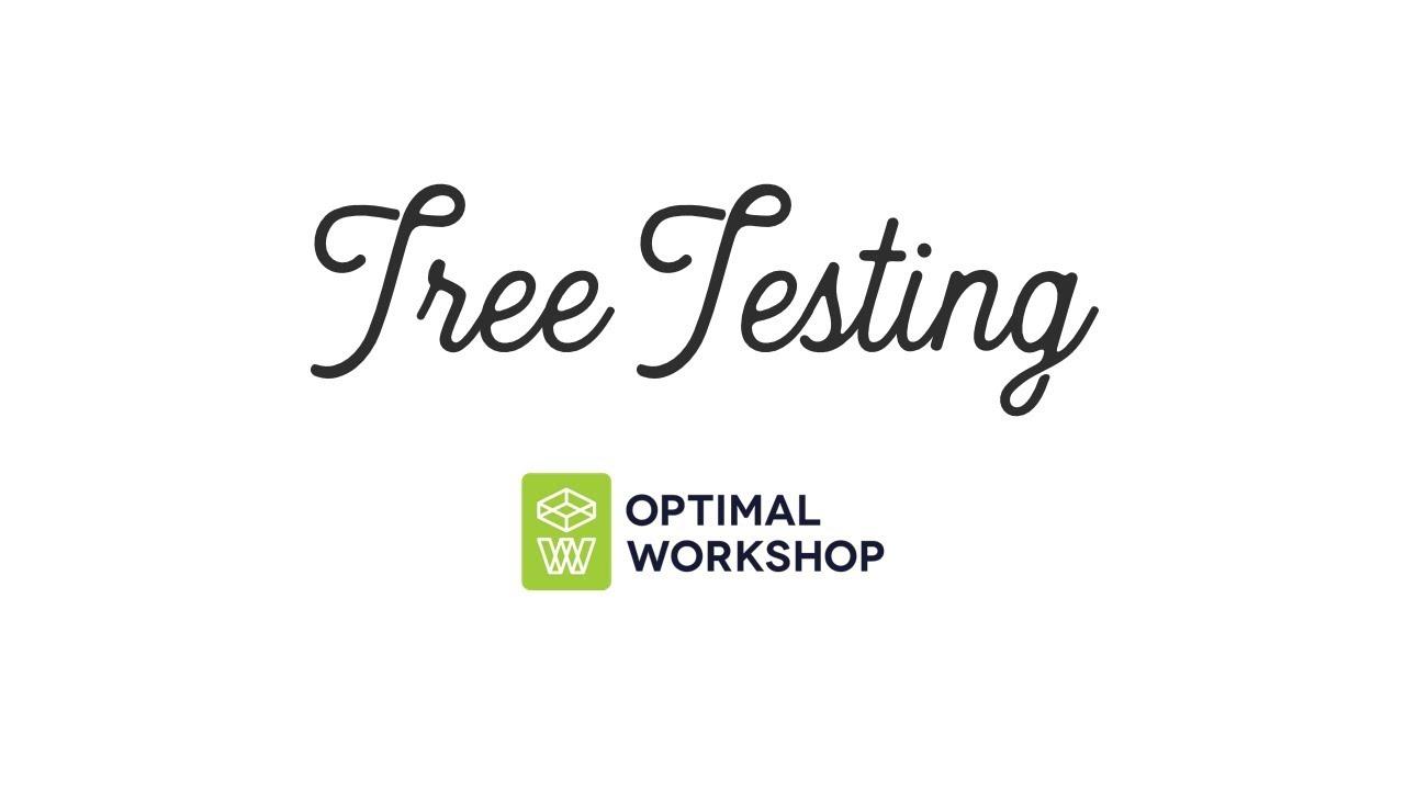 Download Tree Testing con Optimal Workshop