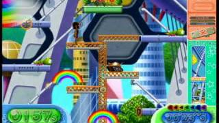 Rainbow Islands - Towering Adventure - Time Attack (under 1 minute)